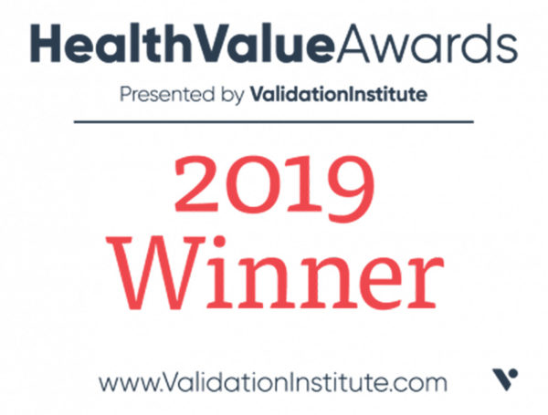 2019 Health Value Award Winner