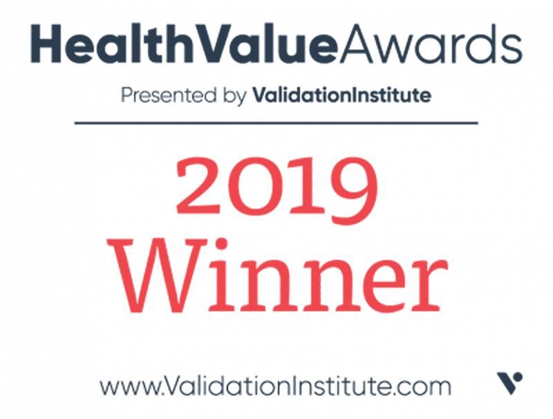 2019 Health Value Award Winner