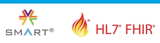 hl7 fhir smart logos